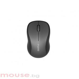Безжична оптична мишка RAPOO M260 Silent, Multi-mode, безшумна, Сив