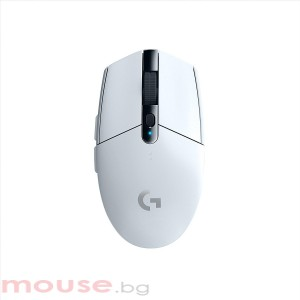 Геймърска мишка Logitech G305 Lightspeed Wireless Бял