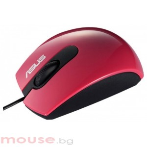 ASUS USB Optical Mouse UT210 (1000 dpi) Red