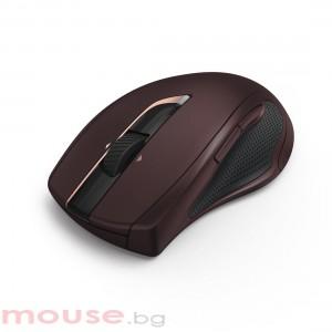 Безжична оптична мишка HAMA MW-900, бордо