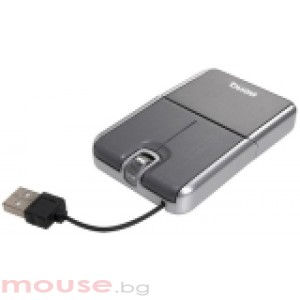 BenQ Card size Optical Mouse S500 Retractable USB Silver