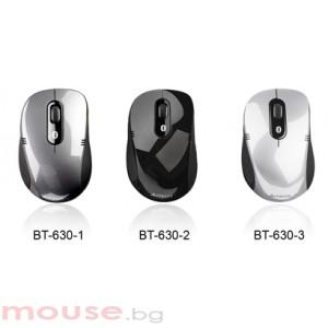 A4tech BT630D-1 Блутут мишка, черна, holeless