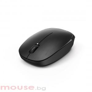 Безжична оптична мишка HAMA MW-110, USB, 1000 dpi, 3 бутона, Черен