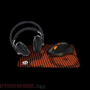 Геймърски комплект SteelSeries Heat Orange Bundle
