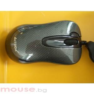 Жична мишка D-60FX, черна, USB