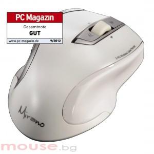 Безжична лазерна мишка HAMA Mirano, USB, бял, безшумна