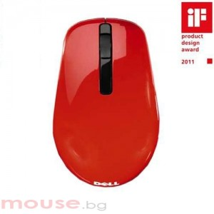 Dell WM311 Wireless Notebook Mouse Red