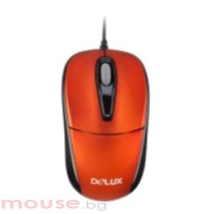 DELUX DLM-105 Red/Black