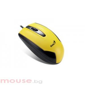 Мишка Genius DX-100 Жълта
