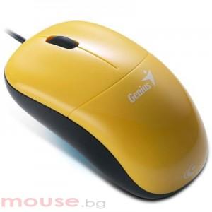 Мишка Genius DX-220 жълта