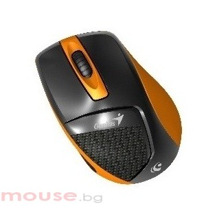 Мишка безжична Genius DX-7000 оранжева