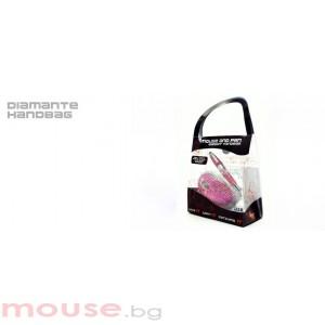 Мишка SATZUMA USB GIFTPACK - чанта мишка + химикал диамант