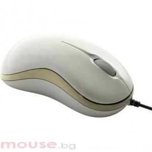 Мишка Gigabyte GM-M5050 бяла, USB