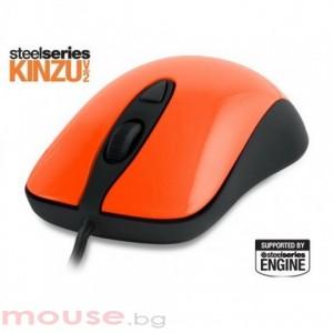 Геймърска мишка SteelSeries Kinzu v2 Orange