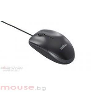 Мишка FUJITSU Laser Combo лазерна комбинирана мишка USB/ PS/2, черна