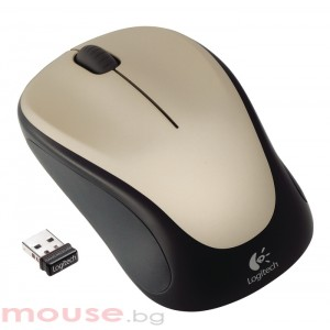 Logitech Wireless Mouse M235 Champagne