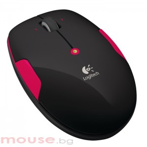 Logitech Wireless Mouse M345 Fire Red