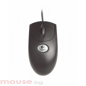 Logitech Optical Wheel Mouse PS/2 Black