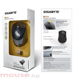 Мишка Gigabyte M-7800E, безжична