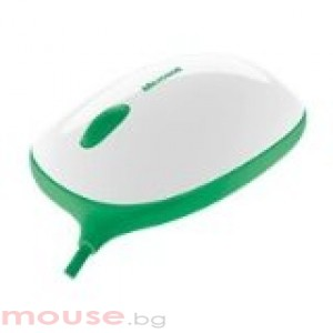 Мишка Microsoft Express Mouse White&Green