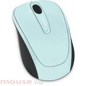 Mишка MICROSOFT Wireless Mobile 3500 Aqua Blue Gloss