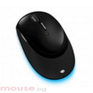 Microsoft Wireless Mouse 5000 USB Blue Track