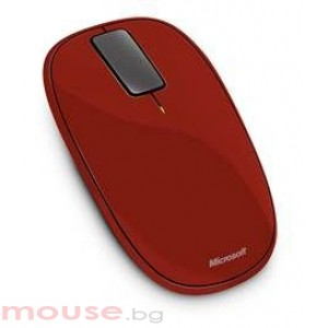 Microsoft Explorer Touch Mouse USB Rust Red