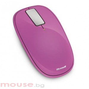 Microsoft Explorer Touch Mouse Win7 USB Dahlia Pink