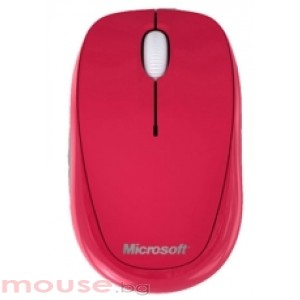 Microsoft Compact Optical Mouse USB English Pomegranate Red