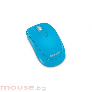 Мишка Microsoft Wireless Mobile Mouse 1000 USB ER English Cyan Blue Retail