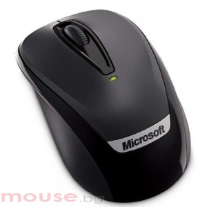 Мишка Microsoft Wireless Mobile 3000 Black