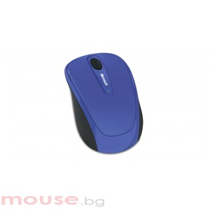 Microsoft Wireless Mobile Mouse 3500 USB Ultramarine Blue