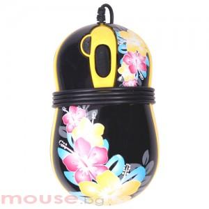 Мишка G-Cube оптична, мини, Aloha night, USB