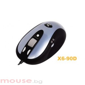 Мишка A4Tech G-Laser X6-90D, USB