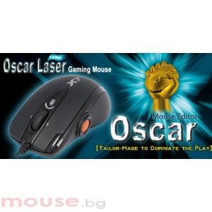 Лазерна геймърска мишка OSCAR XL-755K, USB, 100-3600dpi