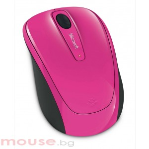 MICROSOFT Wireless Mobile Mouse 3500 Magenta Pink
