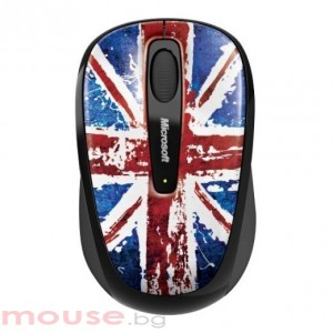 Мишка Microsoft Wireless Mobile Mouse 3500 USB Great British