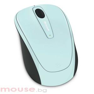 Microsoft Wireless Mobile Mouse 3500 USB Aqua Blue_1 GMF-00193