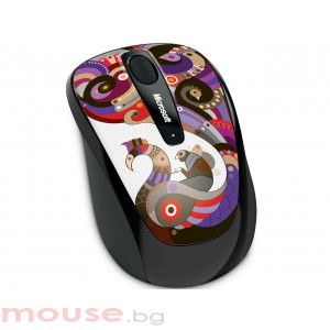 Мишка MICROSOFT Wireless Mobile Mouse 3500 Artist Chamarelli