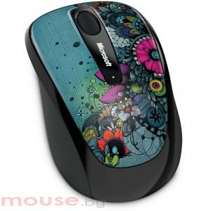 MICROSOFT Wireless Mobile Mouse 3500 Artist Olofsdotter