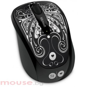 Мишка Microsoft Wireless Mobile Mouse 3500 USB Artist Si