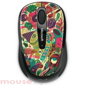 MICROSOFT Wireless Mobile Mouse 3500 Artist Zanski_2