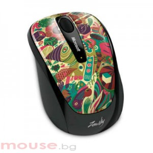MICROSOFT Wireless Mobile Mouse 3500 Artist Zanski_1