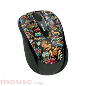 MICROSOFT Wireless Mobile Mouse 3500 Artist Zou_1