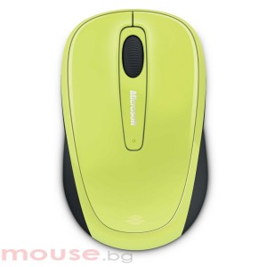 Мишка Microsoft Wireless Mobile Mouse 3500 USB Citron Green