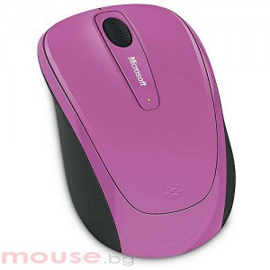 Мишка Microsoft Wireless Mobile 3500 Dahlia Pink