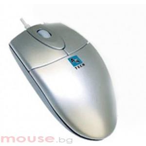 Оптична мишка OP 620D-1, PS/2 сива
