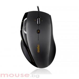 RAPOO N6200 Жична оптична мишка, черна