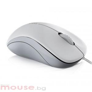 Мишка RAPOO N1130 жична оптична мишка, бяла