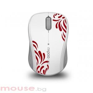 RAPOO 3100P white Безжична оптична мишка- 5.8Ghz